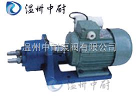 S型-S型微型齒輪輸油泵