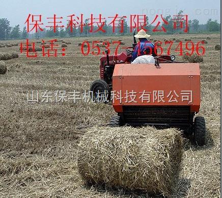 选购玉米秸秆自动捡拾进料打捆机方法
