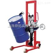 300KG油漆涂料用倒桶秤/300公斤油桶搬运车秤/油桶车称