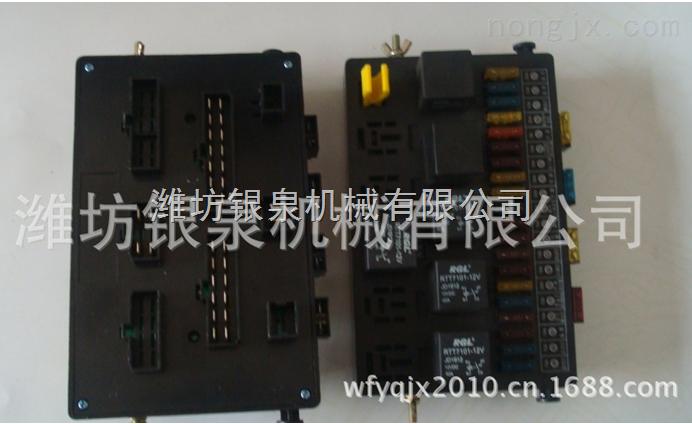 厂家大量直供福田雷沃谷神收割机原厂配件—麦客中央电器盒