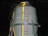5.5吨玻璃钢料塔 5.5吨玻璃钢饲料塔 玻璃钢储料塔