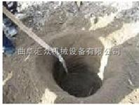 四冲程汽油机带动挖坑机,大深度挖穴机