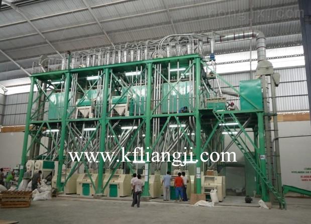 开封日产3-800吨全自动面粉加工设备