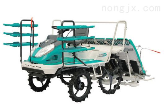 唯信標準農業設備乘坐式插秧機