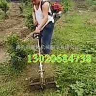 新型背负式微耕机 小型松土锄草机