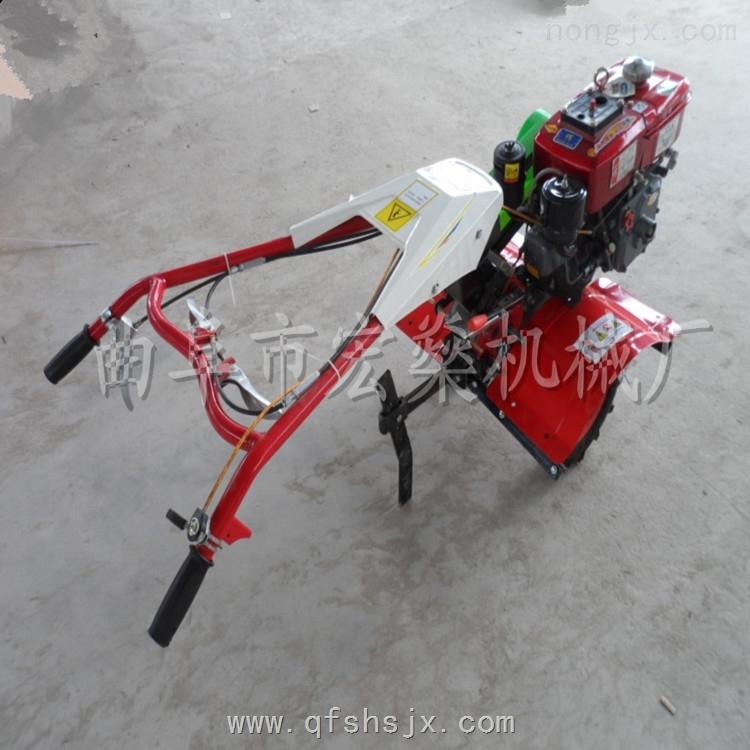 HS XG-178-開溝培土機 微耕除草機 果園小型旋耕機