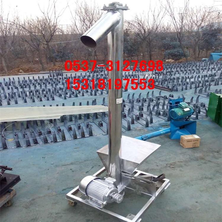 TL10-济宁粮食提升机产地 小麦螺旋上料机供应生产y2