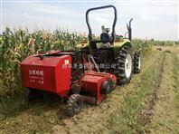 粉碎玉米秸秆打捆机 收割站立秸秆打捆机