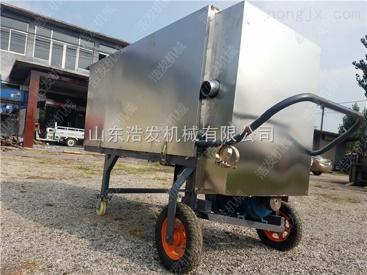 HFJ-200-猪粪干湿分离机 粪便离心脱水机 固液处理机