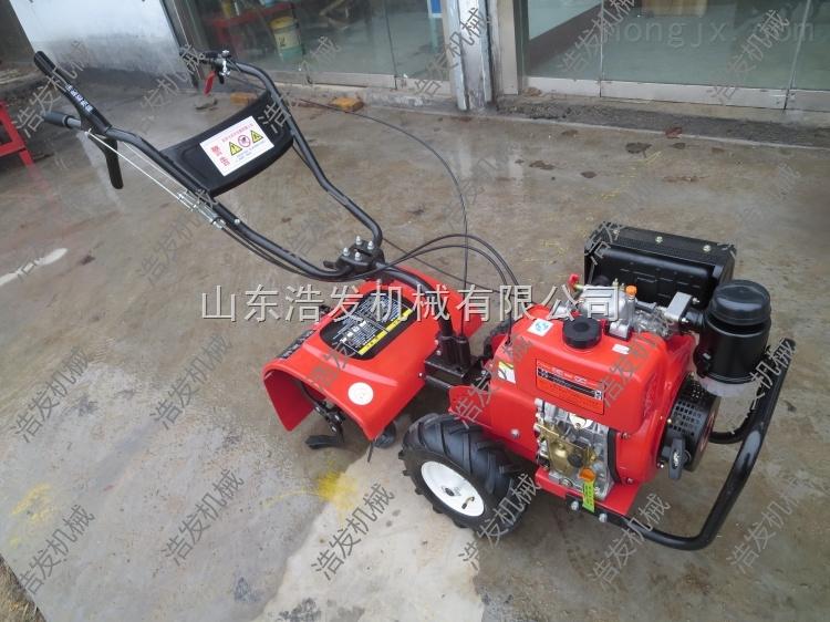 開溝培土旋耕機 多功能小型微耕機