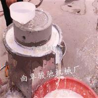 优质石磨面粉机 多功能电动石磨机 小型磨面石磨面粉机