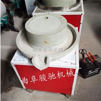 新型小麦面粉石磨机 半自动五谷杂粮石磨机 传统电动石磨机