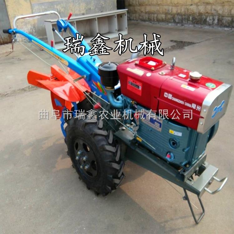 8馬力多功能柴油微耕機開溝機松土除草機