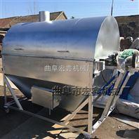 炒瓜子机 燃气滚筒炒货机 加厚型炒锅设备