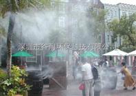 西藏商业街降温景区降温工程人造雾系统