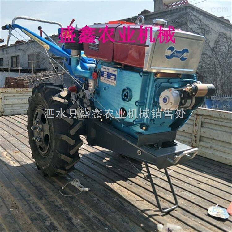 云南手扶拖拉機帶旋耕機 多功能柴油微耕機