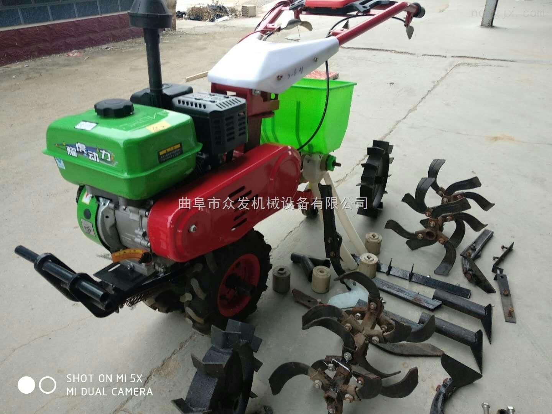 松原丘陵山地微耕机 播种施肥旋耕机价格