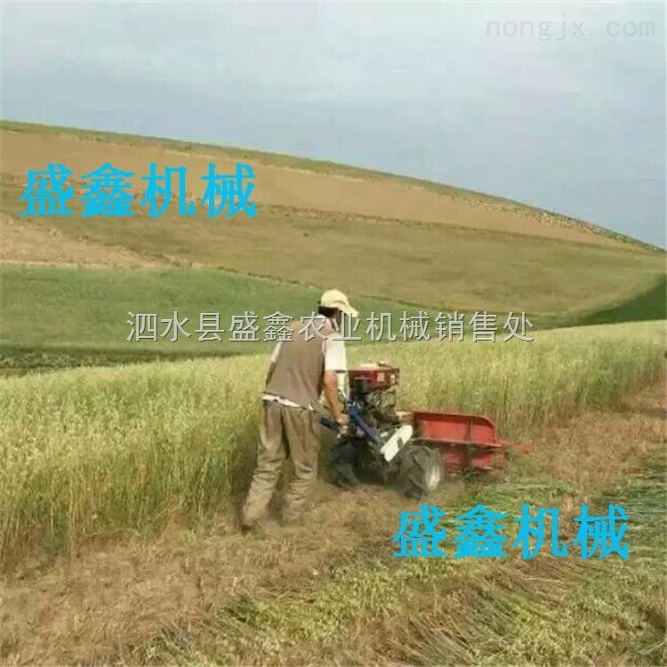 小型玉米联合收割机 多功能小型水稻割晒机