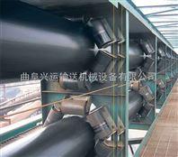 圆管状皮带机生产 防尘煤粉圆管带式输送机