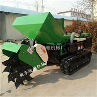 厂家直销 履带式拖拉机旋耕机 果园撒肥机 开沟埋藤机