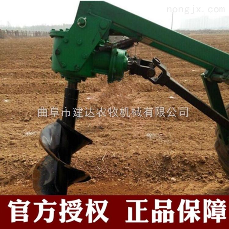 拖拉机悬挂式挖坑机 小型栽树挖坑机报价