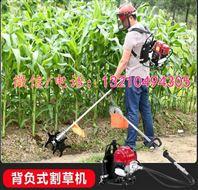 一步到位除草机 背负式割草松土一体机