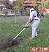 操作简单锄地机 斜挎式割草机