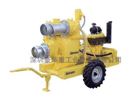 泵系统属于自吸式离心泵,而且采用真空辅助设计,在施工安装过程简单