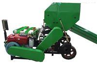 小麦玉米青贮秸秆打捆机丨麦秆包膜一体机